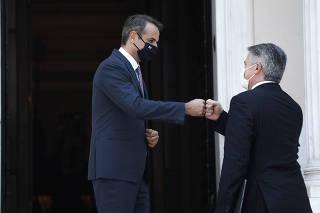 GRECIA-ATENAS-PRIMER MINISTRO-OCDE-REUNION