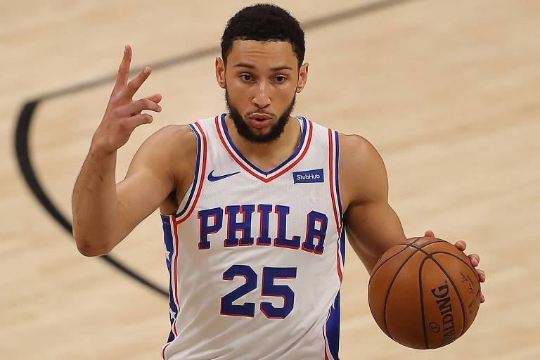 NBA vive impasse inédito com guerra entre Ben Simmons e Philadelphia