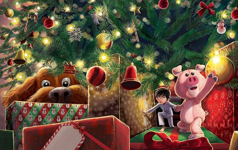 Em 'Jack e o Porquinho de Natal', J. K. Rowling, a autora de 'Harry Potter', constrói fábula de Natal