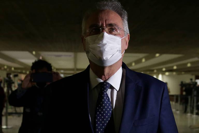 Relator da CPI, senador Renan Calheiros (MDB-AL) diz que cogita propor o indiciamento dos filhos de Bolsonaro