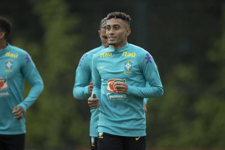 Raphinha, atacante do Leeds, é destaque em jogo da seleção contra a Venezuela