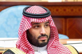 FILE PHOTO: Saudi Crown Prince Mohammed bin Salman attends a session of the Shura Council in Riyadh