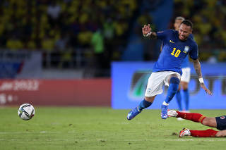 World Cup - South American Qualifiers - Colombia v Brazil