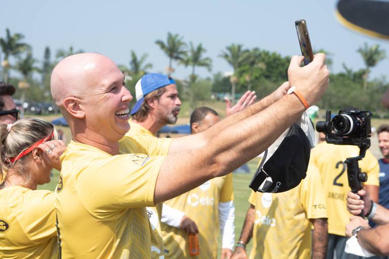Caio Ribeiro promove edição do Caioba, evento reúne quase 300 crianças praticando atividades