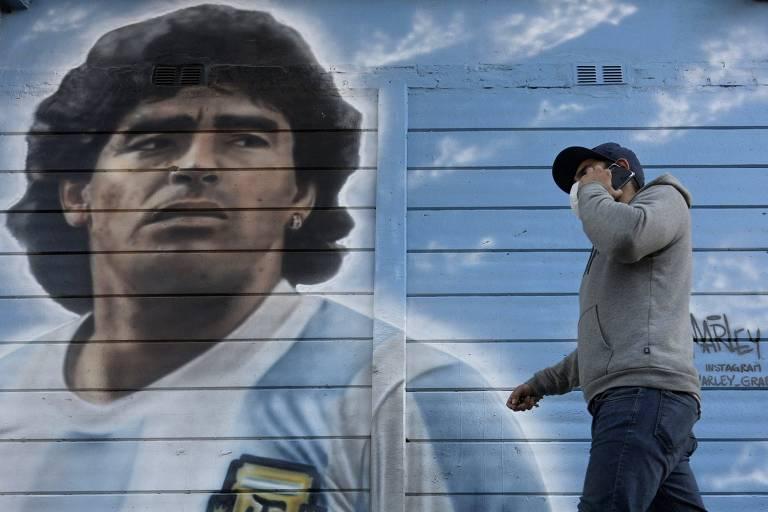 Maradona ganha série na Amazon menos de um ano após sua morte