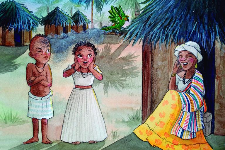 Ilustrações do livro 'Princesinhas e Principezinhos do Brasil '
