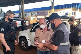 Brazilian citizen Chelbe Willams Moraes expulsed from Paraguay