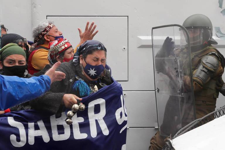 Presidente do Chile determina militarização em região reivindicada por indígenas