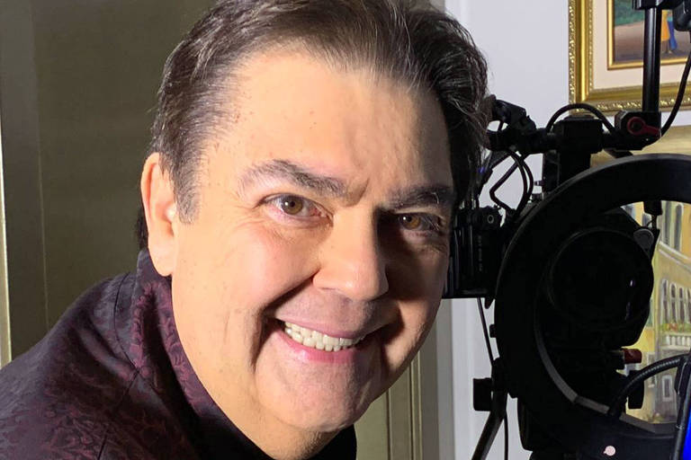 Fausto Silva no GLobo Repórter
