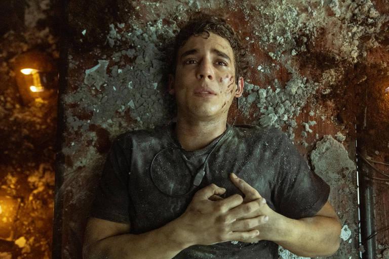 Rio (Miguel Herrán) em imagem divulgada pela Netflix de 'La Casa de Papel'