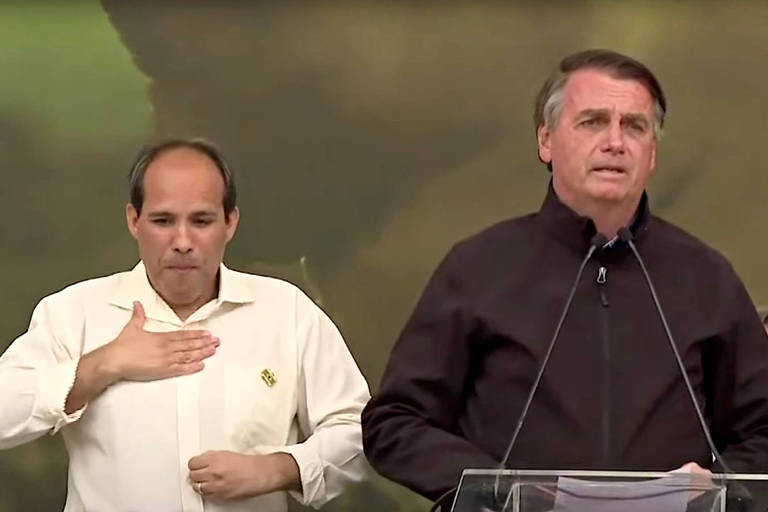 O presidente Jair Bolsonaro participa de evento de entrega de títulos de propriedades rurais em Miracatu (SP)