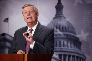 Senators Graham And Cuellar Hold News Conference On Border Situation