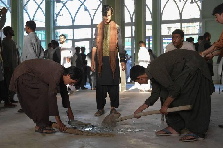 Ataque terrorista em mesquita no Afeganistão deixa ao menos 35 mortos e dezenas de feridos