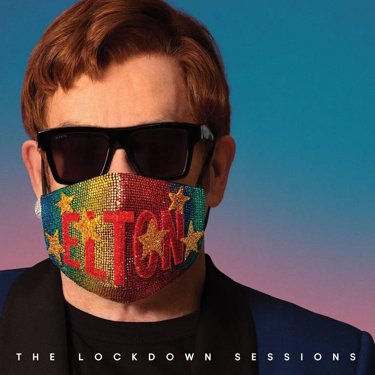 "Capa do novo disco de Elton John, ""The Lockdown Sessions"""