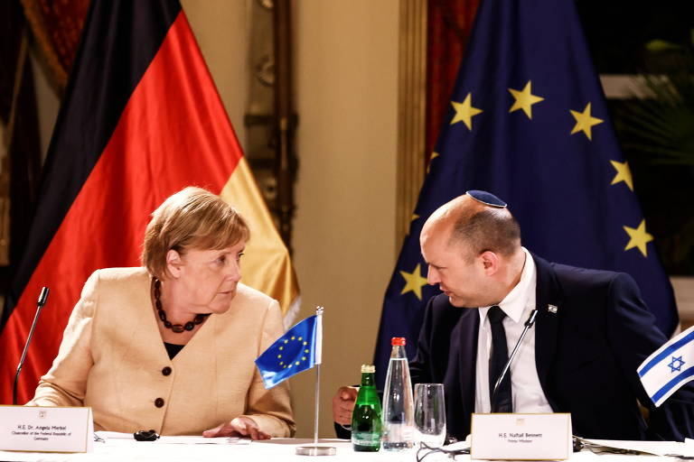 Angela Merkel reforça aliança alemã com Israel na reta final de seu mandato