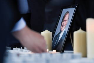 Vigil held for killed British MP Amess, in Southend-on-Sea