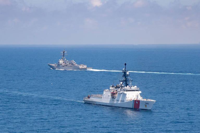 Após revelação de míssil hipersônico chinês, EUA anunciam exercício no estreito de Taiwan