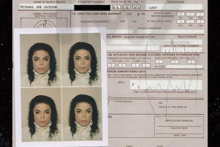 Documento antigo de Michael Jackson é vendido por R$ 400 mil