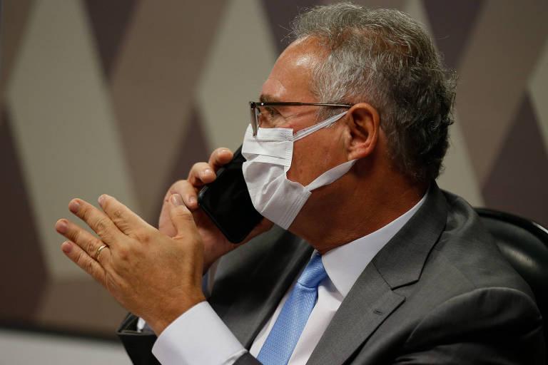Renan pede indiciamento de 72 por 24 crimes em novo relatório da CPI da Covid; veja lista
