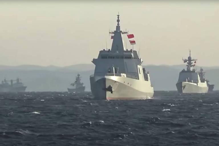 China e Rússia fazem provocação militar inédita contra Japão e EUA; veja vídeos
