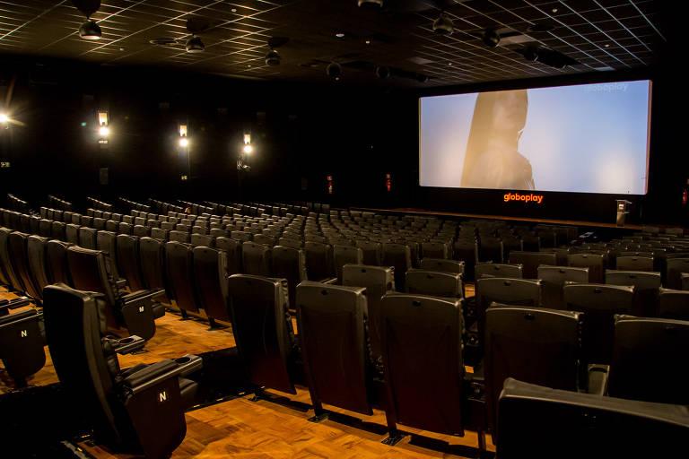 A Globoplay 1 tem 370 poltronas; na sua programação só há filmes da Mostra Internacional de Cinema de São Paulo que o festival termine