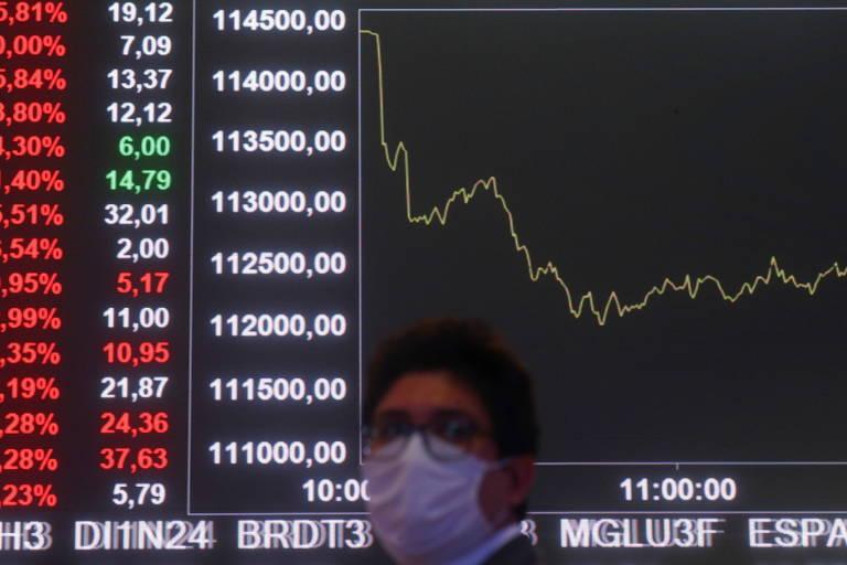 Bolsa fecha em queda de 3,3%, e dólar a R$ 5,59, após Bolsonaro determinar auxílio de R$ 400