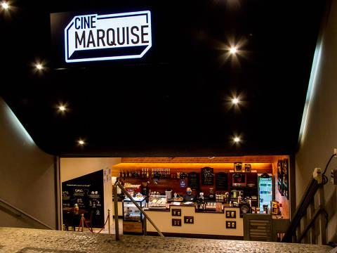 Entrada do Cine Marquise