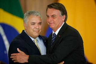 BOLSONARO / IVAN DUQUE / COLOMBIA
