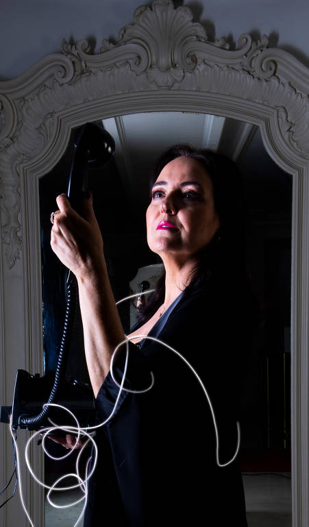 A soprano Rosana Lamosa