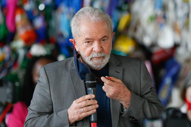 Lula diz não ver motivo para crítica a Bolsonaro por aumento de benefício e defende R$ 600