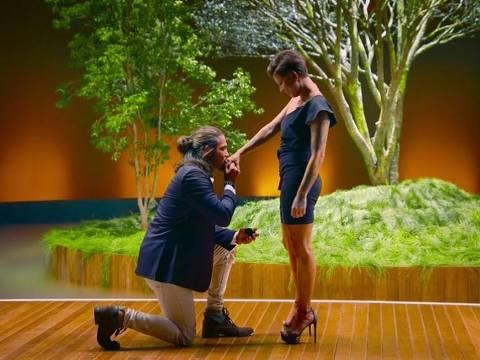 Nanda e Thiago, um dos casais da versão brasileira de 'Casamento às Cegas'