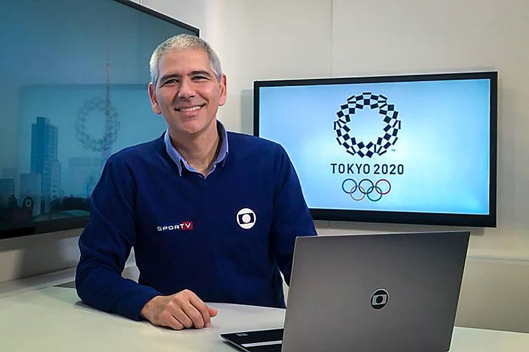 Carlos Gil é correspondente da Rede Globo no Japão
