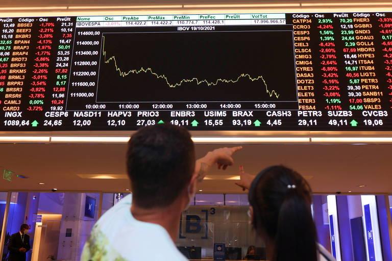 Bolsa tem pior semana desde baque da pandemia com drible no teto
