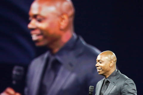 FILE -- Dave Chapelle in New York, Sept. 30, 2017. (Rebecca Smeyne/The New York Times) ORG XMIT: XNYT162