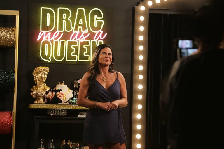 Gretchen participa do Drag Me as a Queen Celebridades