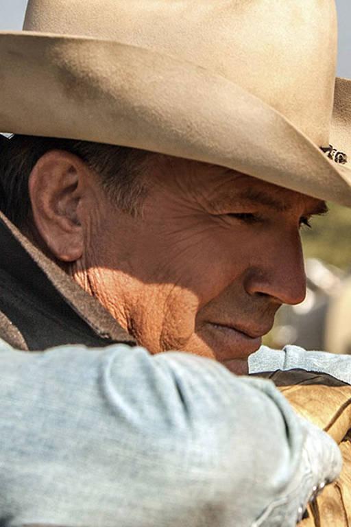 Cenas da terceira temporada da série Yellowstone