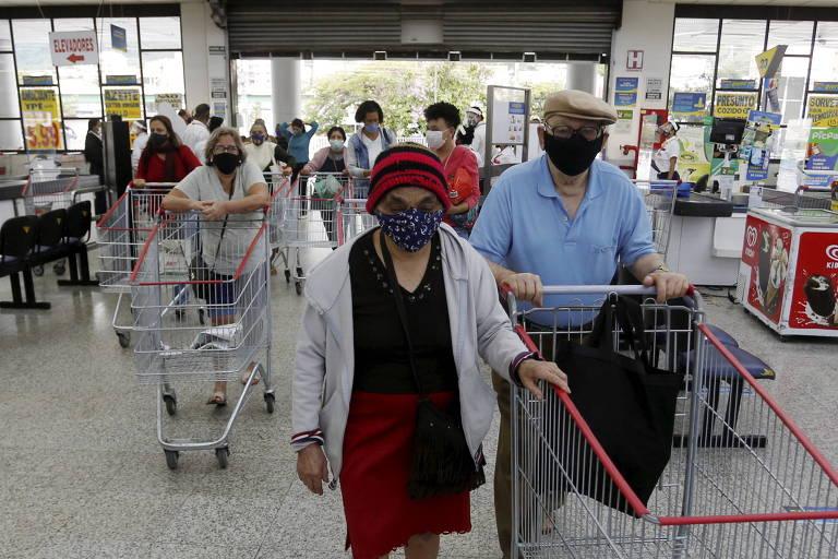 Multidão que tomava mercado Guanabara some em meio a pandemia e crise