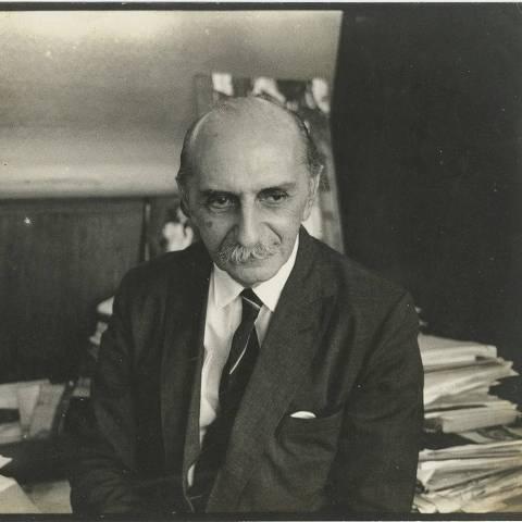 O arquiteto e urbanista Lucio Costa (1902-1998), cujo acervo foi doado para a Casa da Arquitectura, em Portugal