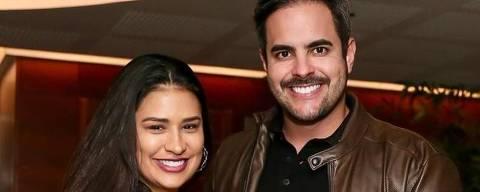 Simone Mendes  com o marido Kaka Diniz
