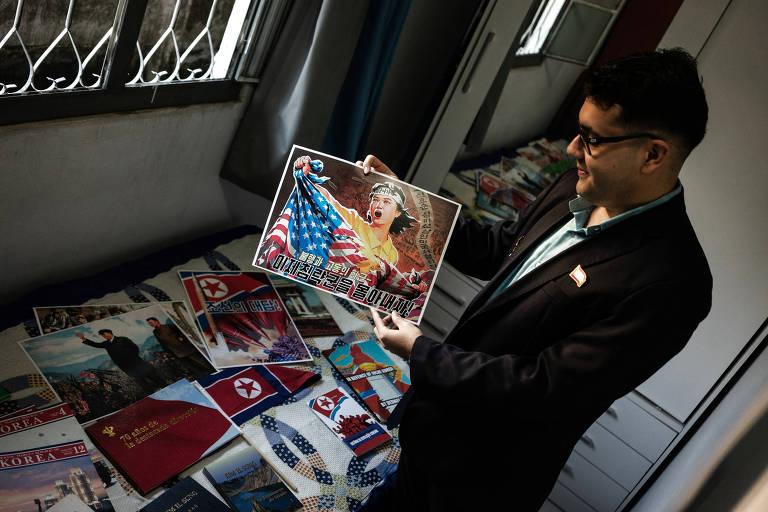 Fãs de Kim Jong-un, brasileiros enaltecem Coreia do Norte e vibram com mísseis