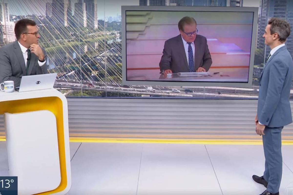 Chico Pinheiro agradece a orixá por comentários inofensivos ao vivo