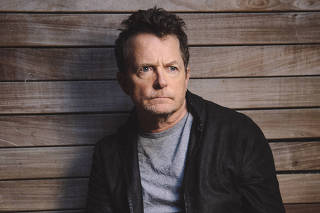 Actor and author Michael J. Fox in New York, Oct. 15, 2020. (Celeste Sloman/The New York Times)