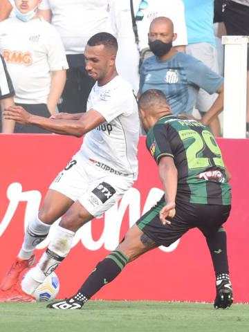 23/10/2021 - Santos X America MG -  Foto: Ivan Storti/Santos FC