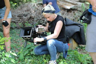 Handout photo of cinematographer Halyna Hutchins