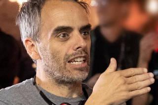 Film director Joel Souza is seen in this undated handout photo