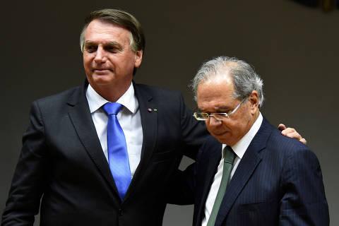 Estou morrendo afogado, e Bolsonaro aparece e renova confiança, diz Guedes