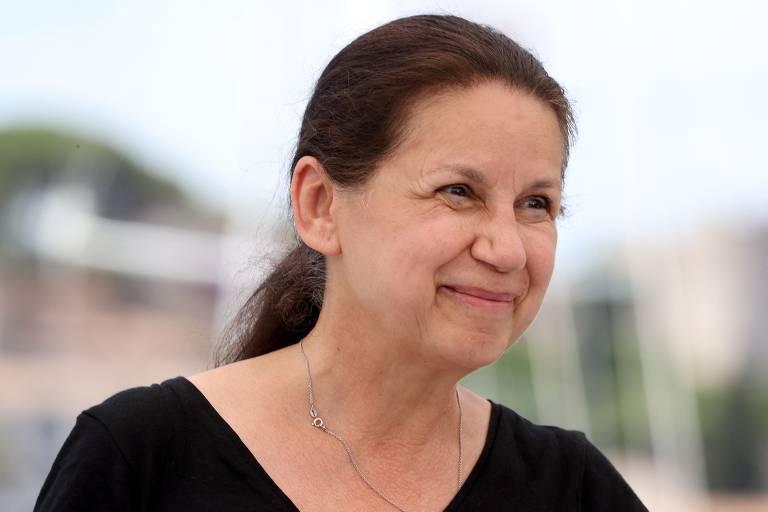 A diretora húngara Ildiko Enyedi na 74ª edição do Festival de Cannes