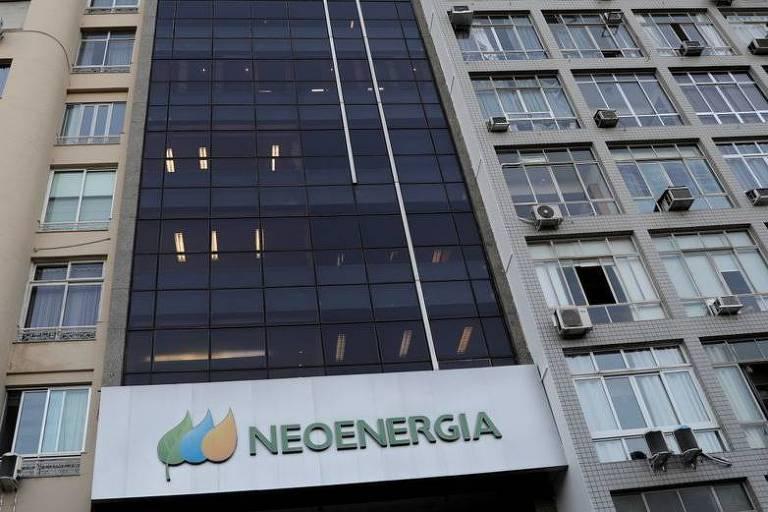 Fachada da Neoenergia no Rio de Janeiro
