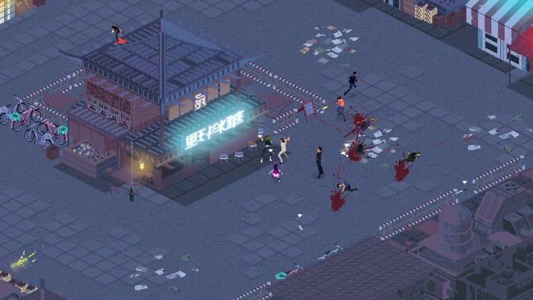 Captura de tela do jogo 'Kate: Collateral Damage'