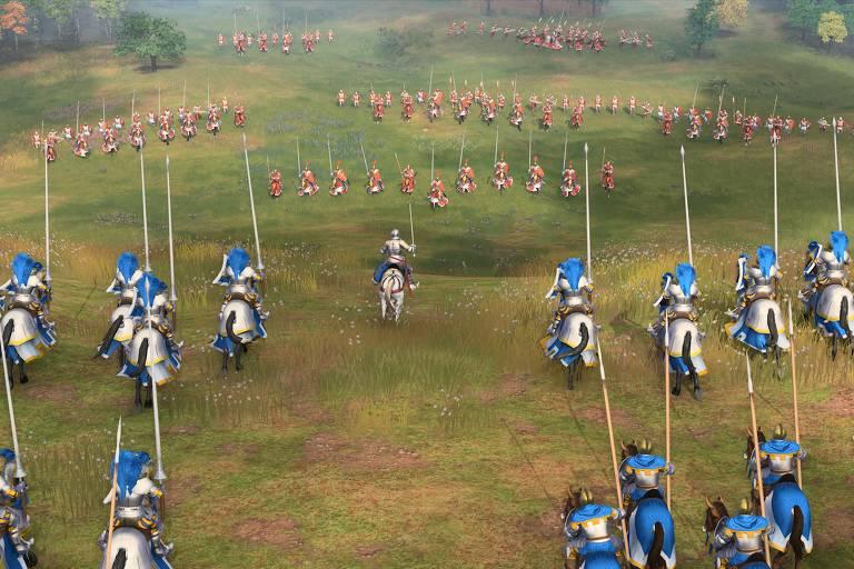 Imagem do jogo Age of Empires 4